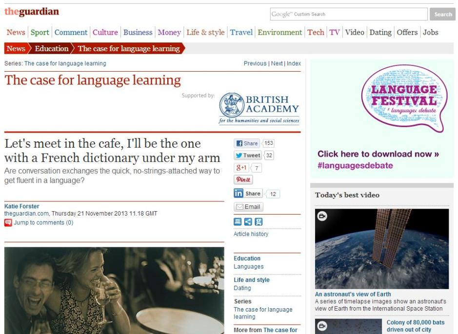 The Guardian 21 November 2013