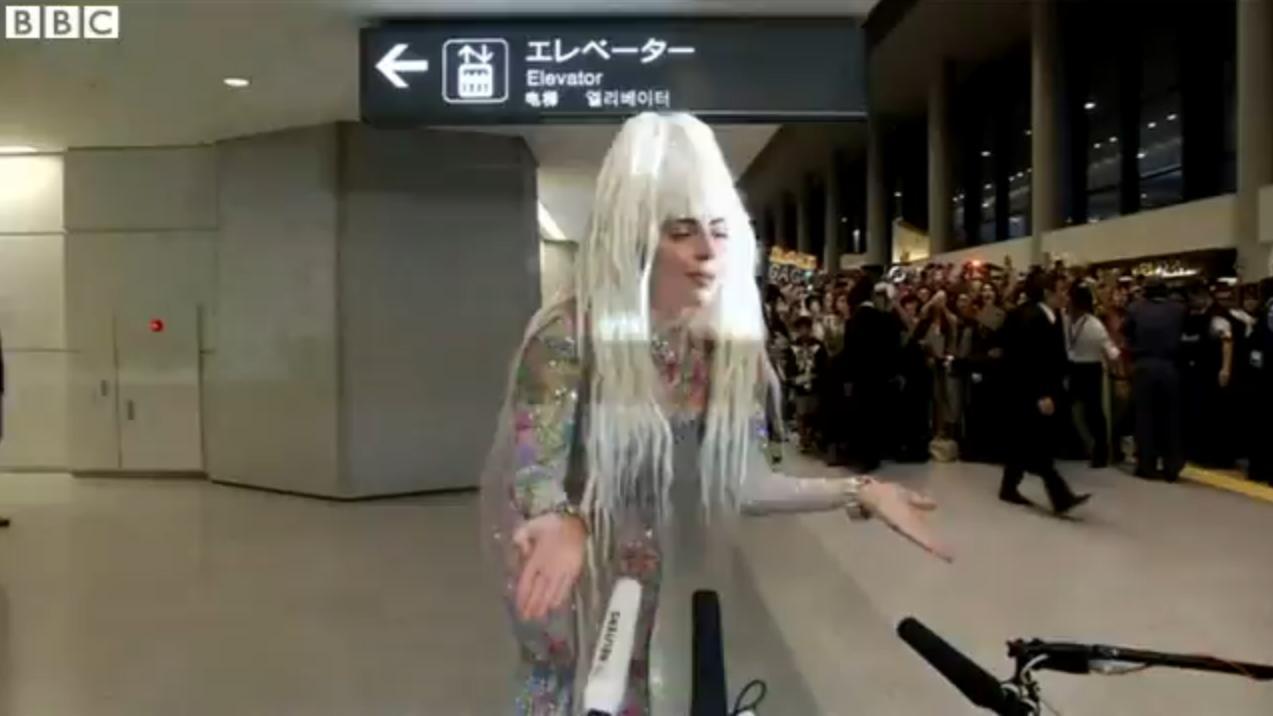 BBC News Still - Lady Gaga